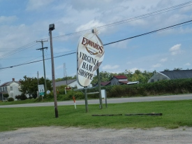 Edwards is famous for its country ham