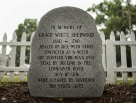 Grace Sherwood stone