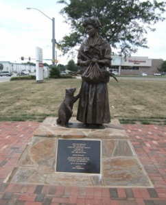 Statue of Grace at the former Sentara Bayside Hospital