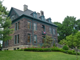 The Southwest Va Historical State Park is in a lovely mansion