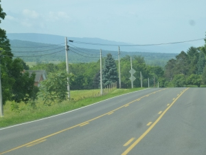 Route 11 is nicely paved and is 3-4 lanes, except when going through towns