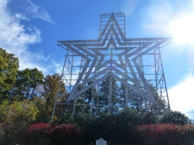 The world's biggest man made star